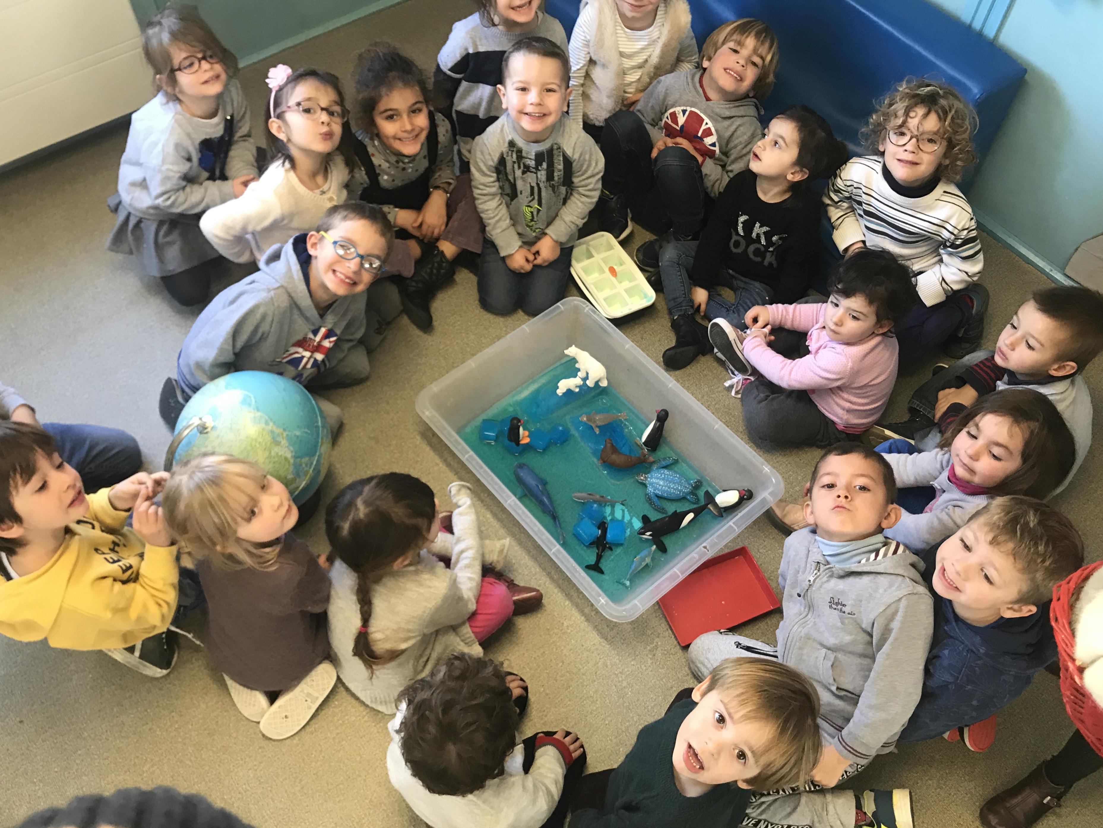 La classe de les carrotes al Pol Nord!